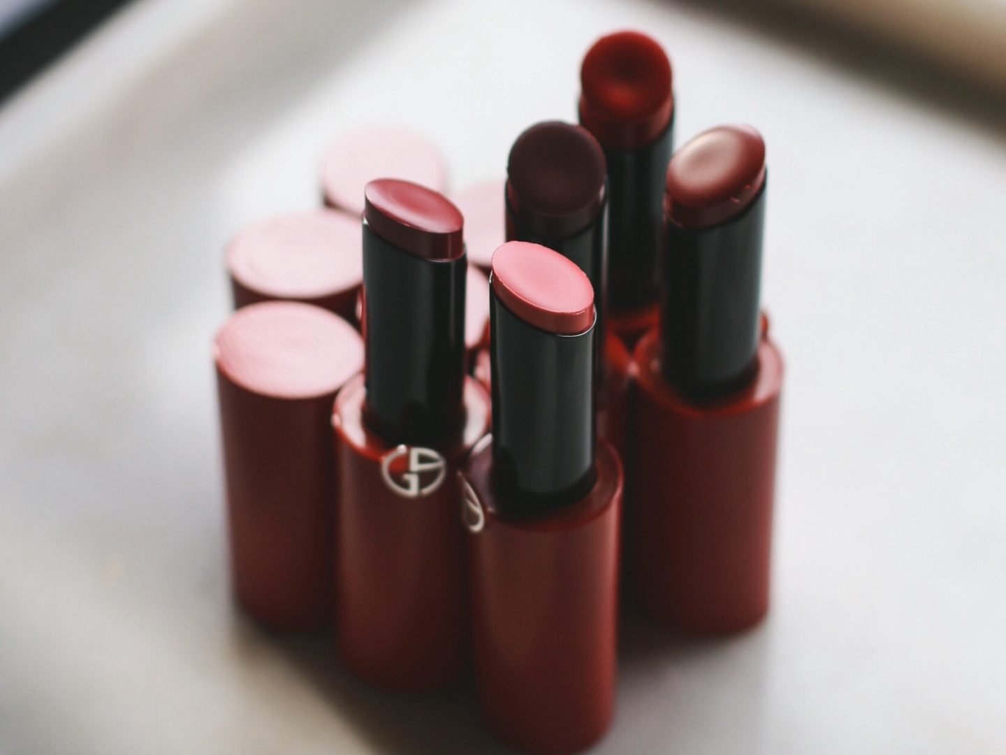New From Armani Beauty | Ecstasy Shine Lipsticks