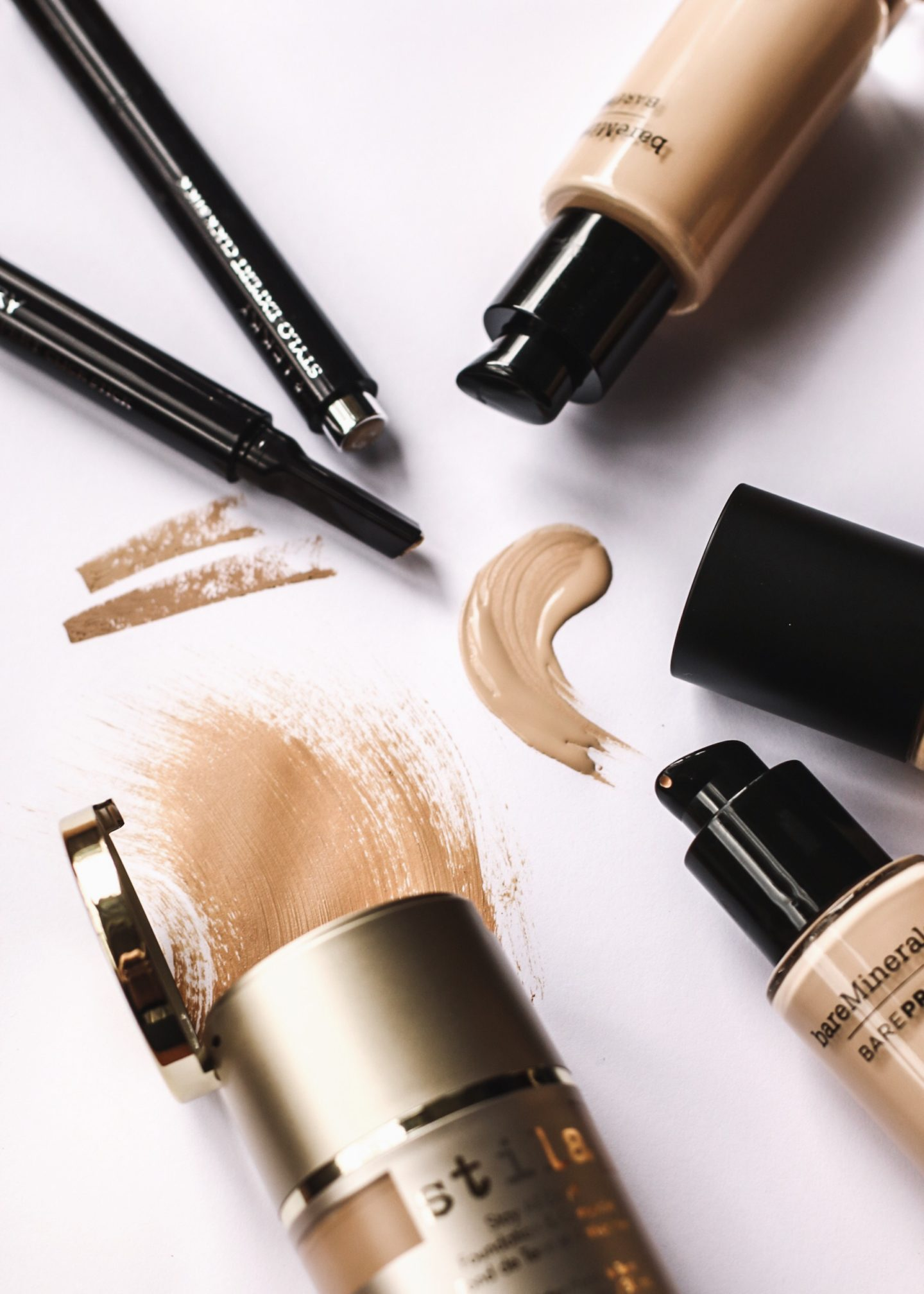 Gemma Watts reviews Stila Stay All Day Foundation and Concealer, By Terry Stylo Expert Concealer, BareMinerals BarePro Performance Wear Liquid Foundation