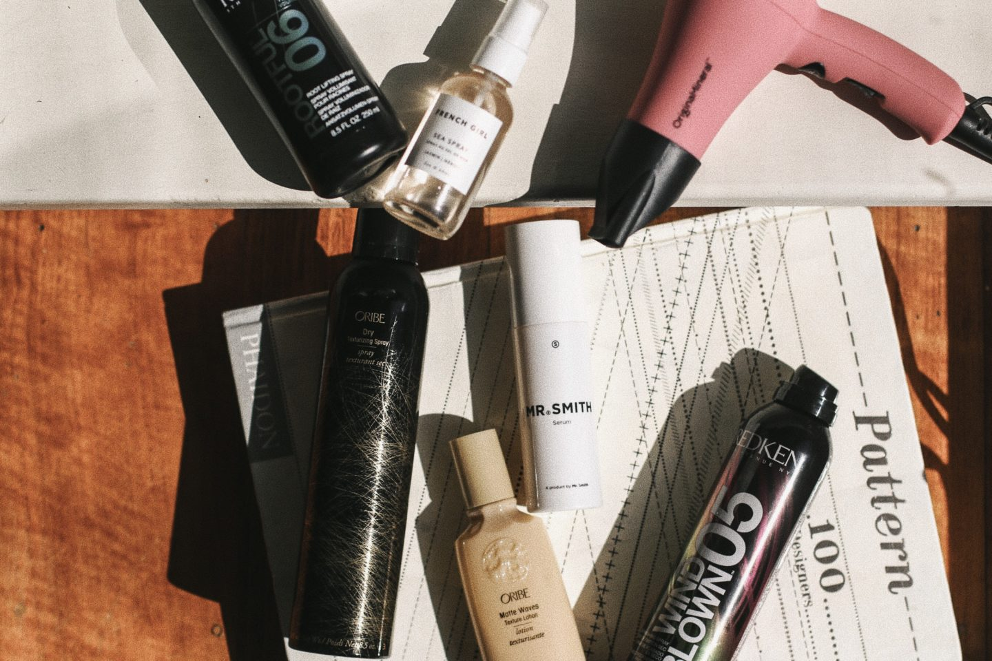 Oribe, Redken and French Girl Organics for the perfect bangs