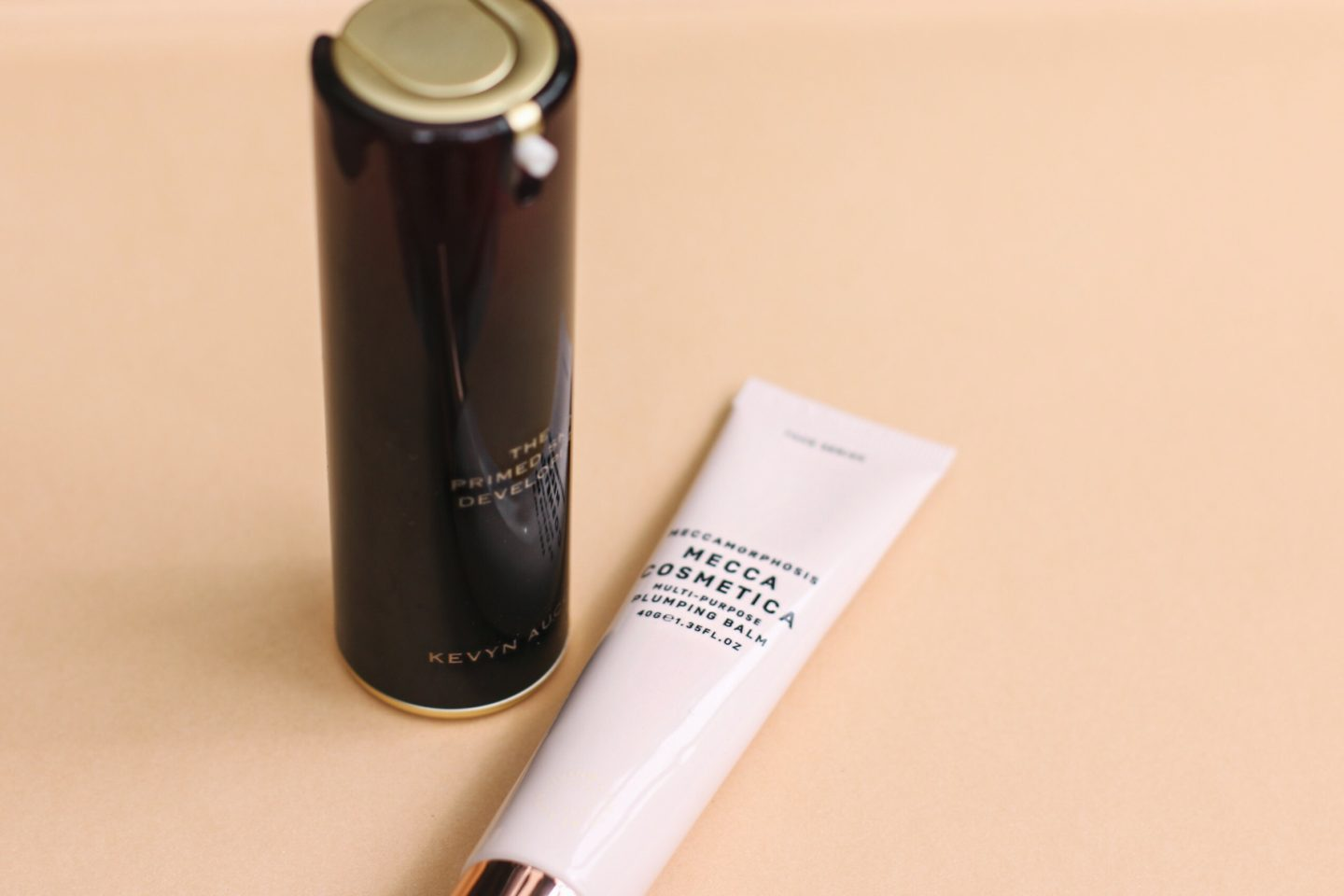 Kevyn Aucoin The Primed Skin Developer and Mecca Plumping Balm